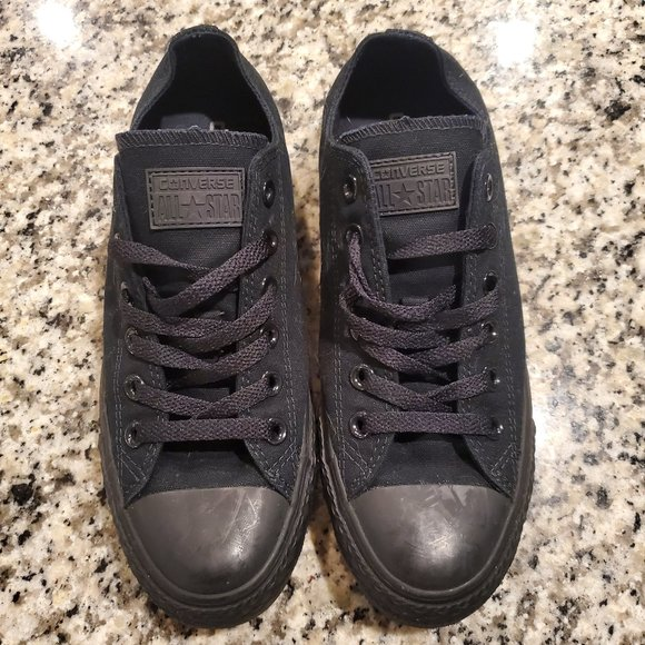 Converse Shoes | Blacked Out Converse
